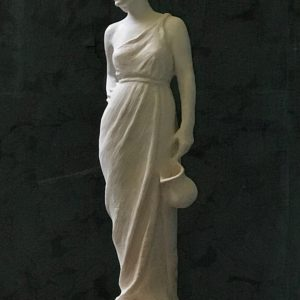 """Water Bearer"" sculpture by Rick Casali"