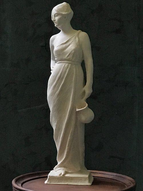 """""""Water Bearer"""" sculpture by Rick Casali"""